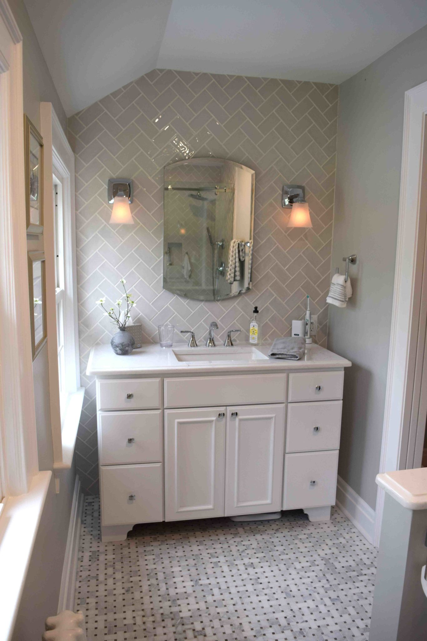 Master Bath Make Over For The Brooks Hatchett Design Remodel