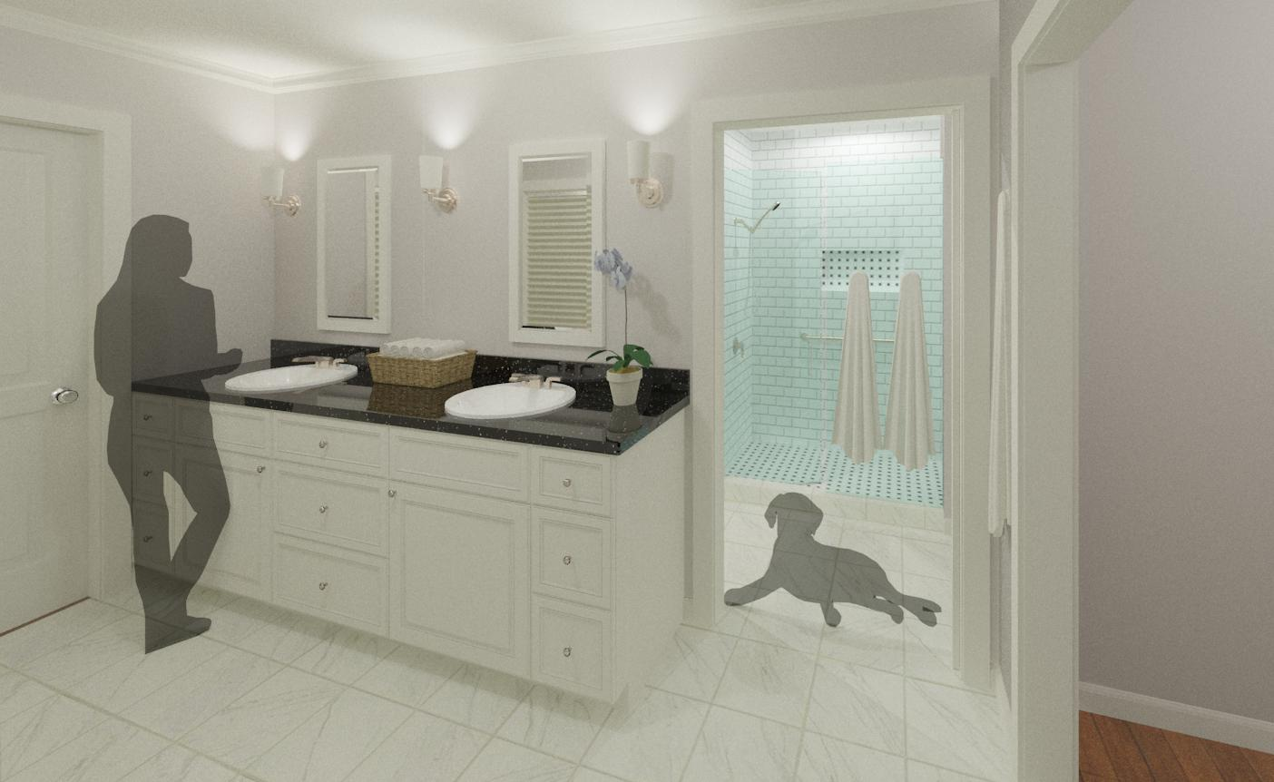 Bathroom Remodel for the Thompsons - Hatchett Design/Remodel on beach bathroom paint, beach bathroom shower, beach bathroom design ideas, beach bathroom decor, beach bathroom makeover, beach master bathroom ideas, beach bathroom decorating, beach commercial, beach bathroom floor, beach bathroom sink, beach bathroom tile, beach bathroom storage, beach bathroom house, beach bathroom remodeling ideas, beach bathroom light, beach bathroom painting, beach bathroom color schemes, beach bathroom art, beach designs for bathrooms, beach home bathroom,