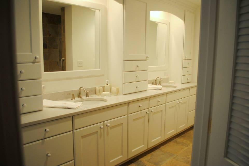 coastal virginia magazinebest ofreaders choicebathroomcabinetshatchett - Bathroom Cabinets Virginia Beach