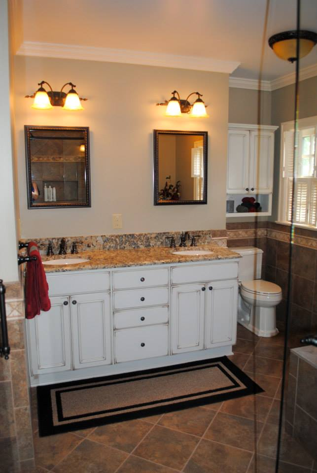 Master Bath Remodel For The Gillens Hatchett DesignRemodel - Bathroom remodeling virginia beach