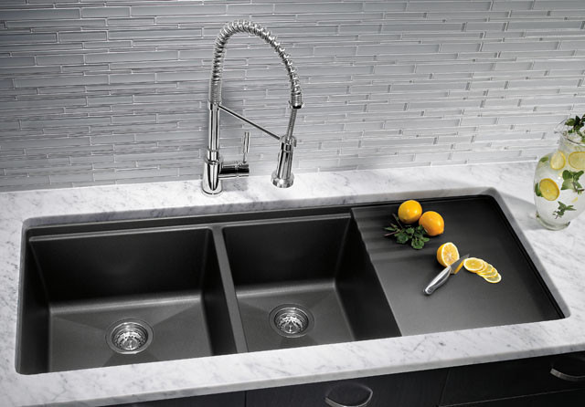 Kitchen Sink Granite Composite Material Design Remodel Hatchett