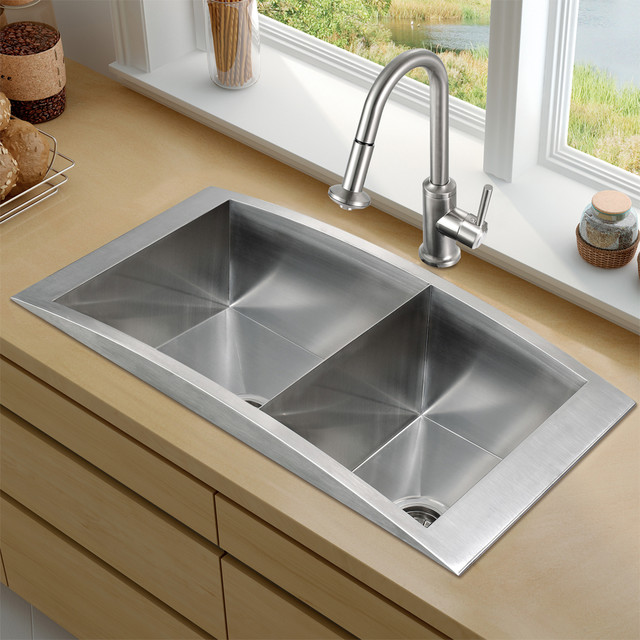 best stainless steel undermount kitchen sinks kitchen sink styles hatchett design remodel 9212