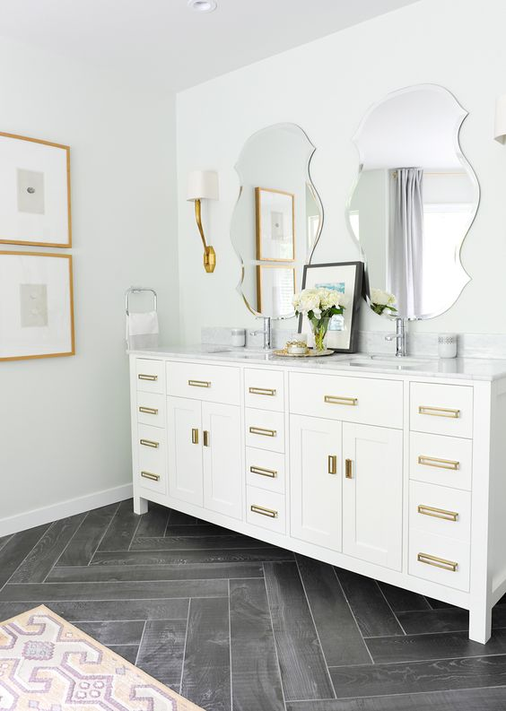 Mixing Metals In Your Bathroom Hatchett Design Remodel