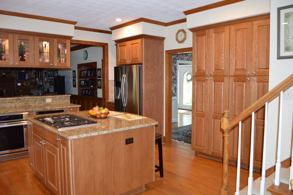 Kitchen remodel for the olivers hatchett design remodel for Kitchen cabinets virginia beach