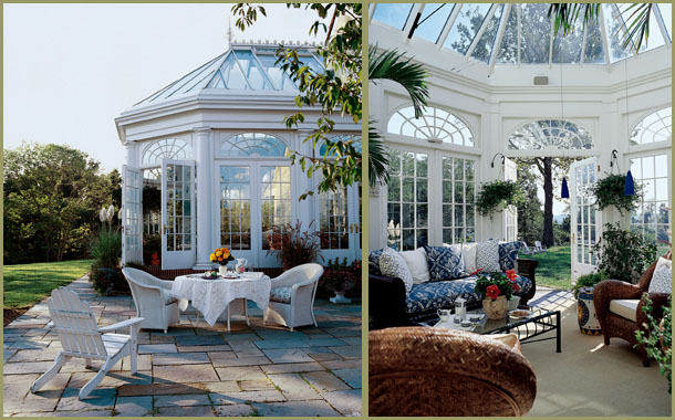 Sunroom styles hatchett design remodel for Adding a conservatory