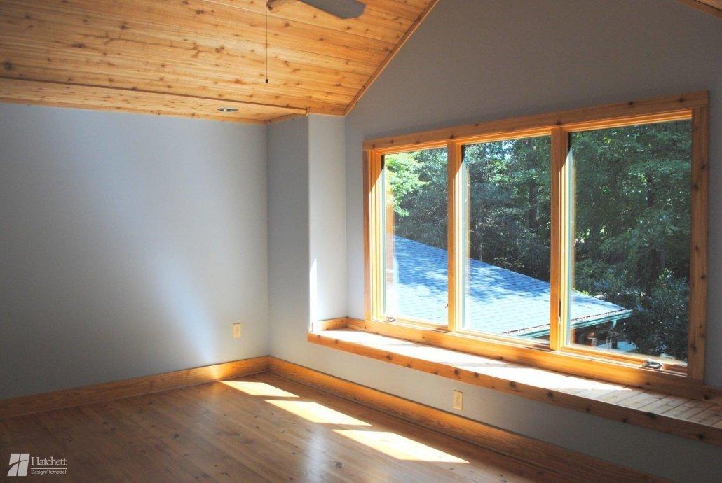 Guest suite windows