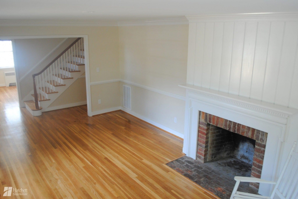 Historic Home Remodel Refinished Floors