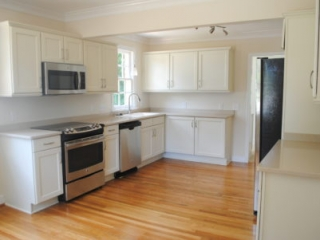Kitchen Remodel Maple Cabinets Painted White