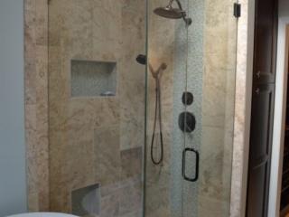 Bathroom Remodel Curbless Shower Design