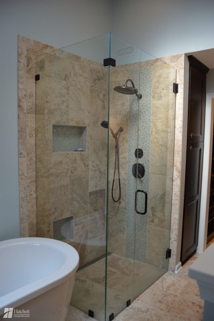 Bathroom Remodel Curbless Shower Design