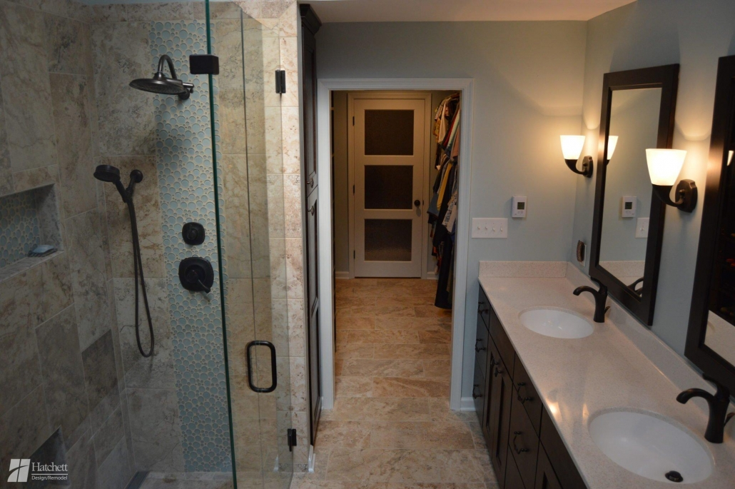 Bathroom Remodel Glass Shower Enclosure
