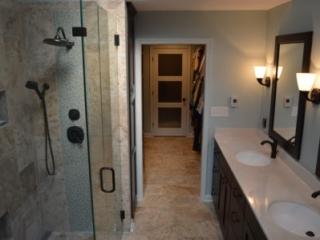 Bathroom Remodel Glass Shower Enclosure