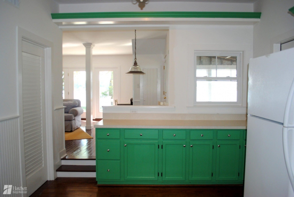 Kitchen Make Over Painted Cabinets