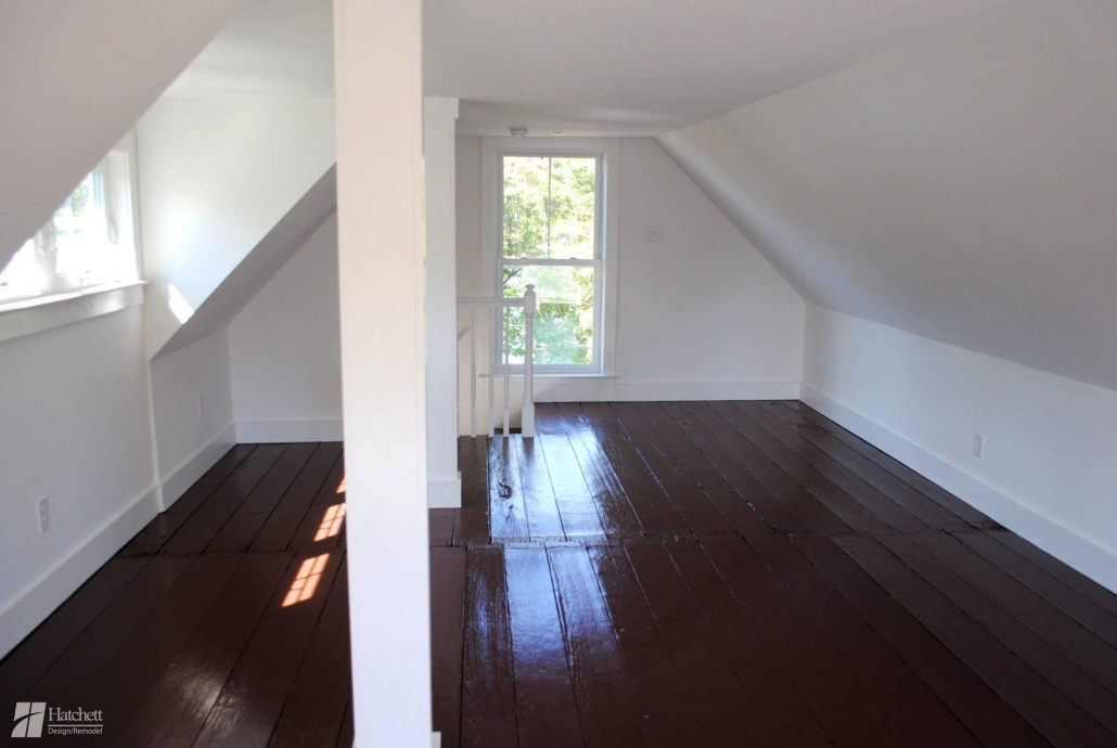 Home Addition Finished Attic Space