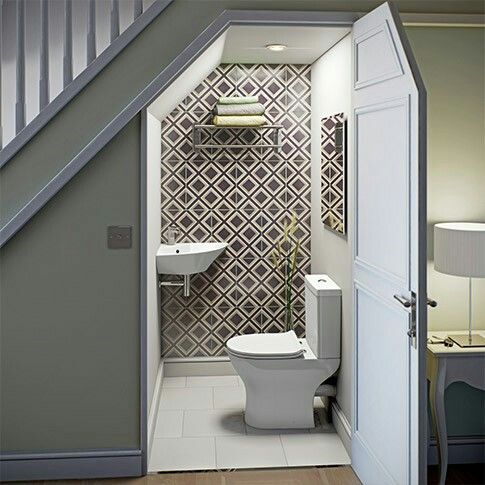 Under Stairs Bathroom Hatchett DesignRemodel - Bathroom remodeling virginia beach