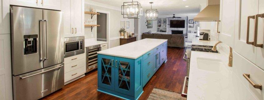 Muellner Remodeled Kitchen After Island