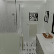 Remodeled Bathroom Shower
