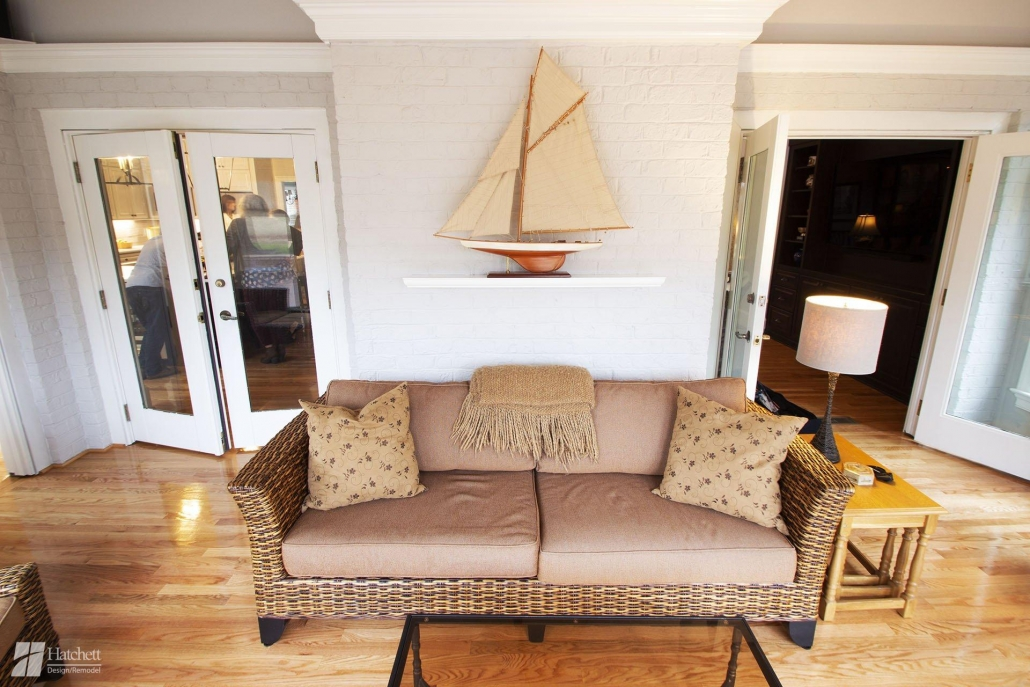 Extend Flooring from Interior Rooms into Sunroom Additions