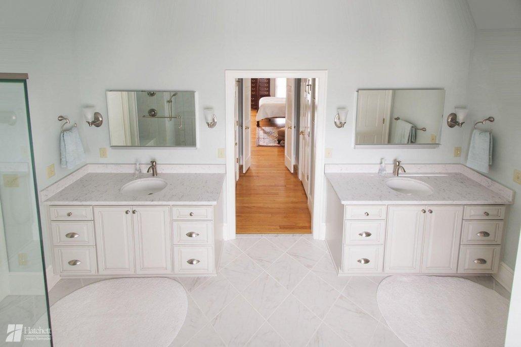 Bathroom Remodel Double Vanities