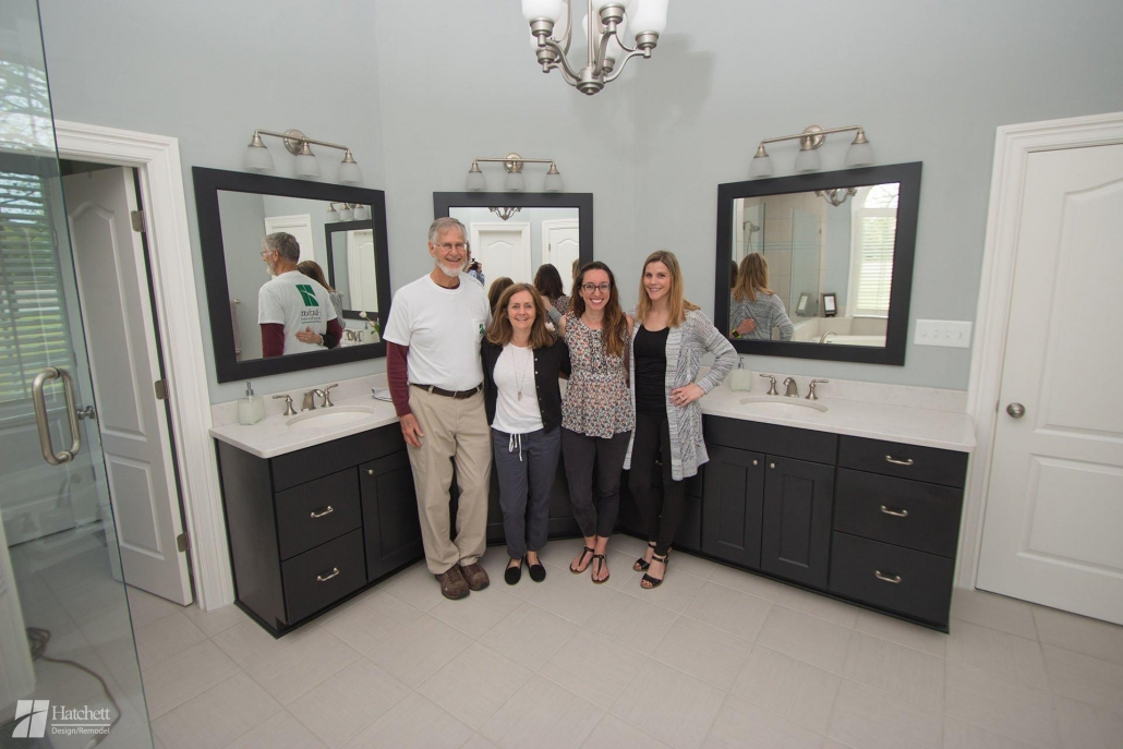 Bathroom Remodel Design Team with Mrs. Love