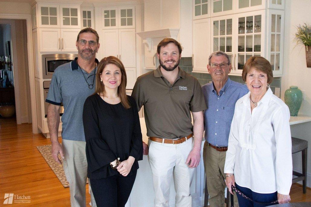 DuBois family and Hatchett team