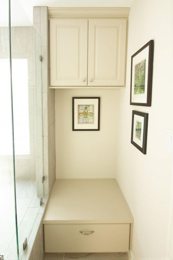 Bathroom Remodel Storage