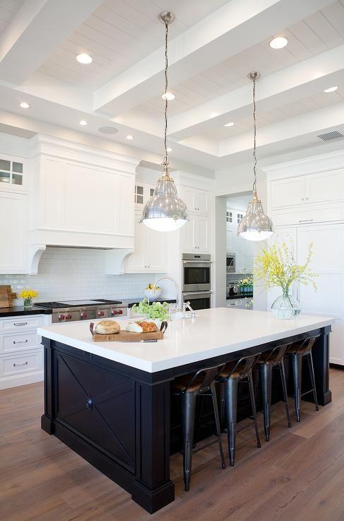 Kitchen Cabinets Black Island Decor Pad