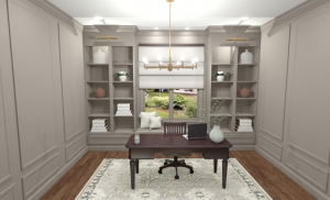 Dedicated Home Office Room Conversion or Room Addition