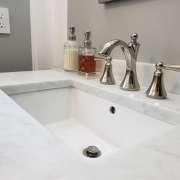 Puckett Bathroom Remodel Sink and Countertop