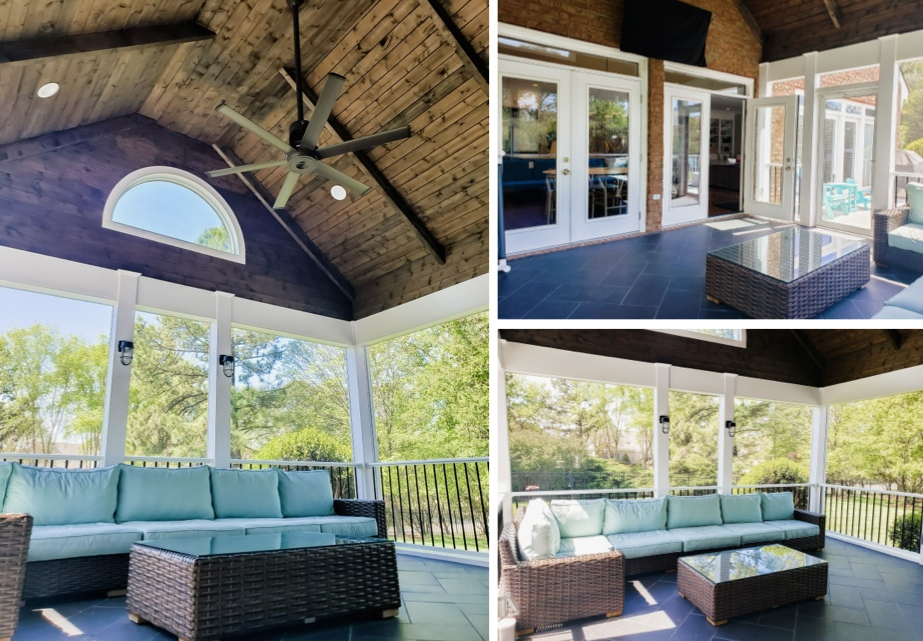 Screened Porch Conversion Outdoor Living